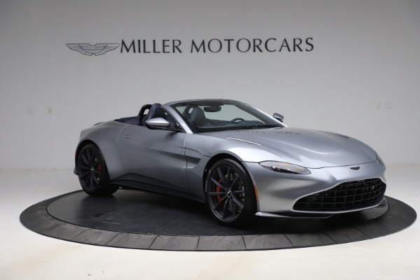 New 2021 Aston Martin Vantage Roadster Convertible for sale $199,285 at Pagani of Greenwich in Greenwich CT 06830 10