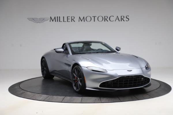 New 2021 Aston Martin Vantage Roadster Convertible for sale $199,285 at Pagani of Greenwich in Greenwich CT 06830 11