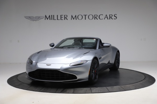 New 2021 Aston Martin Vantage Roadster Convertible for sale $199,285 at Pagani of Greenwich in Greenwich CT 06830 13