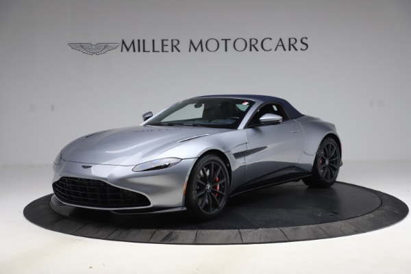 New 2021 Aston Martin Vantage Roadster Convertible for sale $199,285 at Pagani of Greenwich in Greenwich CT 06830 15