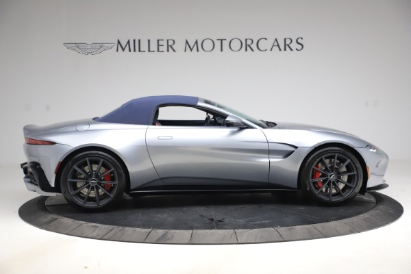 New 2021 Aston Martin Vantage Roadster Convertible for sale $199,285 at Pagani of Greenwich in Greenwich CT 06830 17