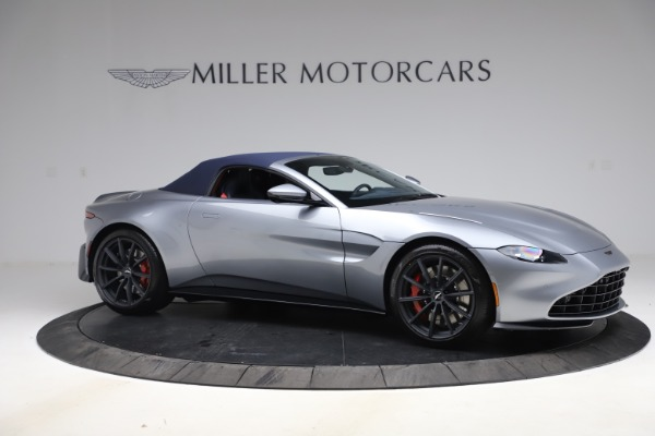 New 2021 Aston Martin Vantage Roadster Convertible for sale $199,285 at Pagani of Greenwich in Greenwich CT 06830 18