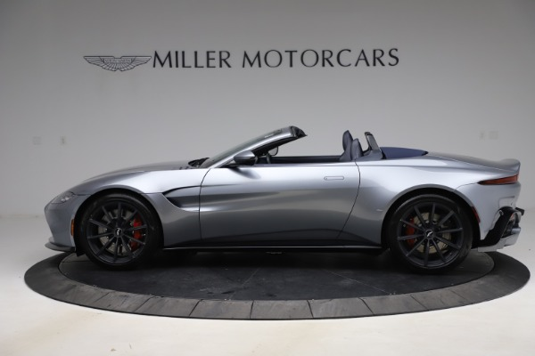 New 2021 Aston Martin Vantage Roadster Convertible for sale $199,285 at Pagani of Greenwich in Greenwich CT 06830 2