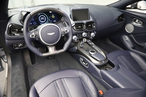 New 2021 Aston Martin Vantage Roadster Convertible for sale $199,285 at Pagani of Greenwich in Greenwich CT 06830 22