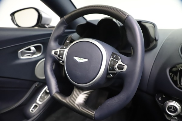 New 2021 Aston Martin Vantage Roadster Convertible for sale $199,285 at Pagani of Greenwich in Greenwich CT 06830 26