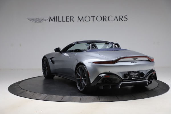 New 2021 Aston Martin Vantage Roadster Convertible for sale $199,285 at Pagani of Greenwich in Greenwich CT 06830 4