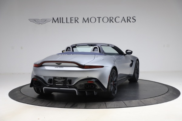 New 2021 Aston Martin Vantage Roadster Convertible for sale $199,285 at Pagani of Greenwich in Greenwich CT 06830 6