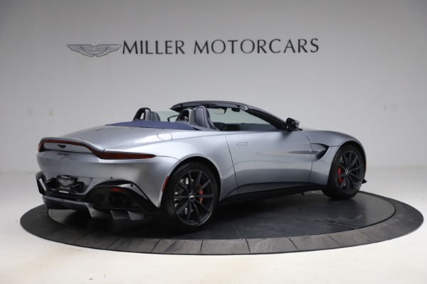 New 2021 Aston Martin Vantage Roadster Convertible for sale $199,285 at Pagani of Greenwich in Greenwich CT 06830 7