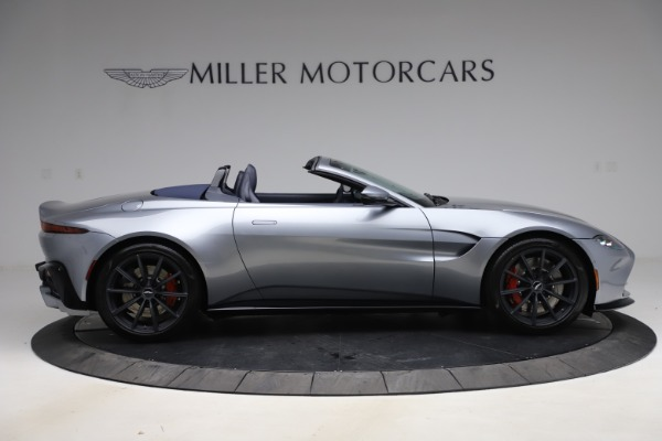 New 2021 Aston Martin Vantage Roadster Convertible for sale $199,285 at Pagani of Greenwich in Greenwich CT 06830 8