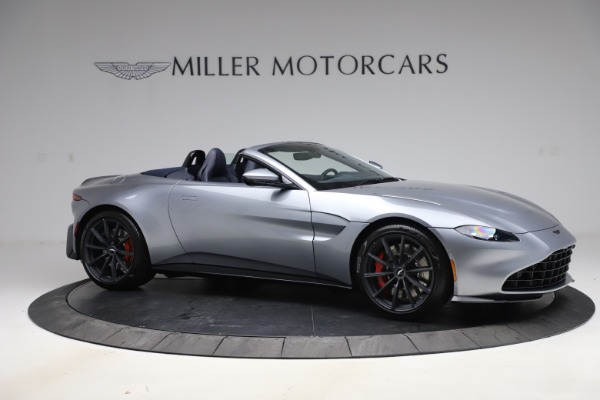 New 2021 Aston Martin Vantage Roadster Convertible for sale $199,285 at Pagani of Greenwich in Greenwich CT 06830 9