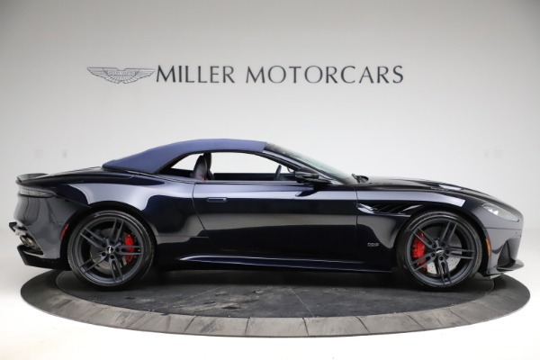 New 2021 Aston Martin DBS Superleggera Volante Convertible for sale $402,286 at Pagani of Greenwich in Greenwich CT 06830 12