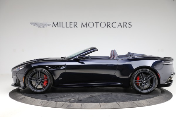 New 2021 Aston Martin DBS Superleggera Volante Convertible for sale $402,286 at Pagani of Greenwich in Greenwich CT 06830 2