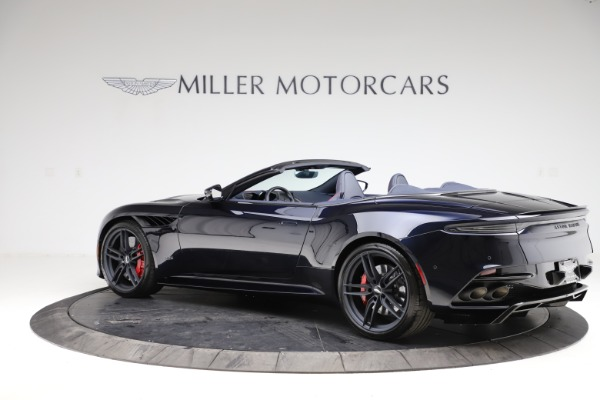 New 2021 Aston Martin DBS Superleggera Volante Convertible for sale $402,286 at Pagani of Greenwich in Greenwich CT 06830 3