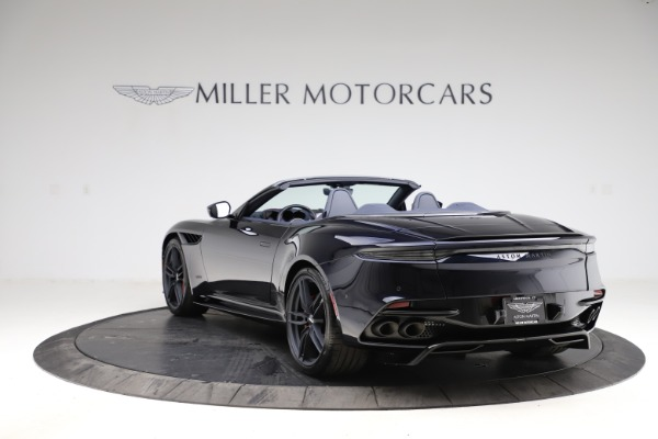 New 2021 Aston Martin DBS Superleggera Volante Convertible for sale $402,286 at Pagani of Greenwich in Greenwich CT 06830 4