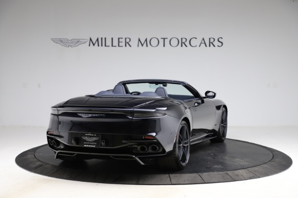 New 2021 Aston Martin DBS Superleggera Volante Convertible for sale $402,286 at Pagani of Greenwich in Greenwich CT 06830 6