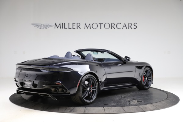 New 2021 Aston Martin DBS Superleggera Volante Convertible for sale $402,286 at Pagani of Greenwich in Greenwich CT 06830 7