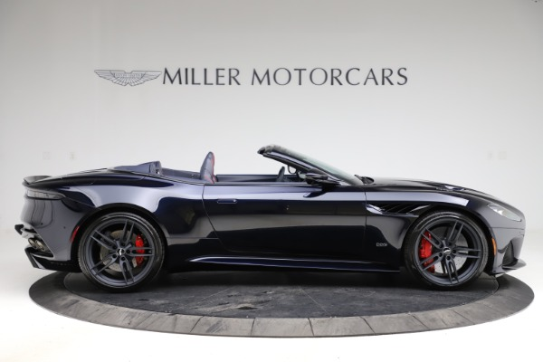 New 2021 Aston Martin DBS Superleggera Volante Convertible for sale $402,286 at Pagani of Greenwich in Greenwich CT 06830 8