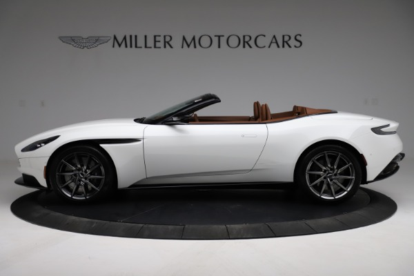 New 2021 Aston Martin DB11 Volante for sale $269,486 at Pagani of Greenwich in Greenwich CT 06830 2