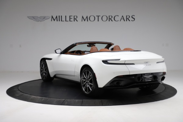 New 2021 Aston Martin DB11 Volante for sale $269,486 at Pagani of Greenwich in Greenwich CT 06830 4