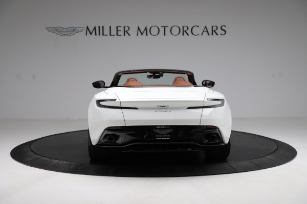 New 2021 Aston Martin DB11 Volante for sale $269,486 at Pagani of Greenwich in Greenwich CT 06830 5