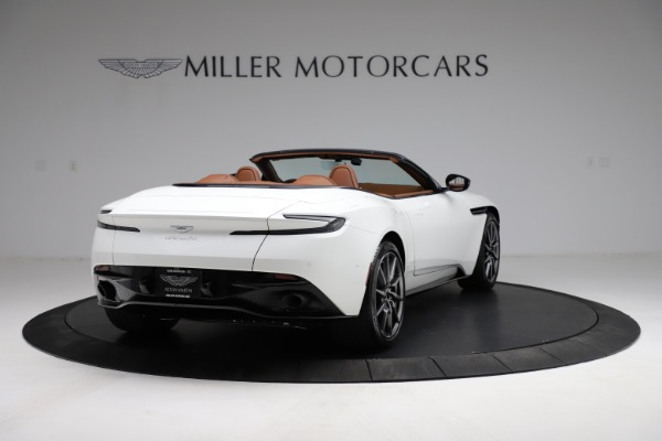 New 2021 Aston Martin DB11 Volante for sale $269,486 at Pagani of Greenwich in Greenwich CT 06830 6