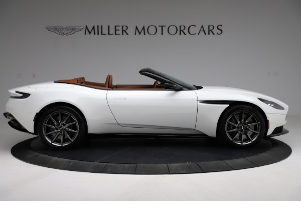 New 2021 Aston Martin DB11 Volante for sale $269,486 at Pagani of Greenwich in Greenwich CT 06830 8