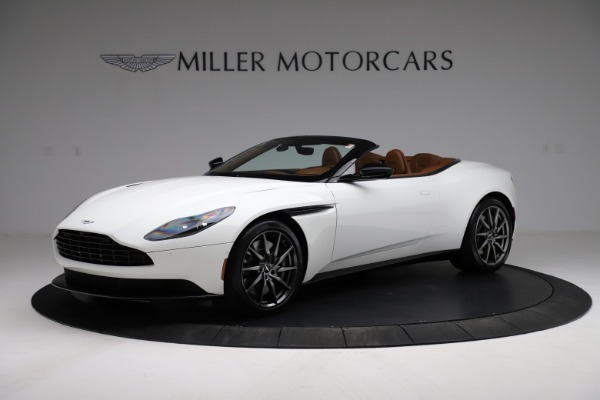 New 2021 Aston Martin DB11 Volante for sale $269,486 at Pagani of Greenwich in Greenwich CT 06830 1