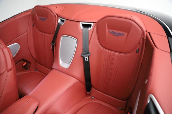 New 2021 Aston Martin DB11 Volante Convertible for sale $261,486 at Pagani of Greenwich in Greenwich CT 06830 19