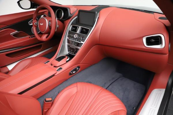 New 2021 Aston Martin DB11 Volante Convertible for sale $261,486 at Pagani of Greenwich in Greenwich CT 06830 20