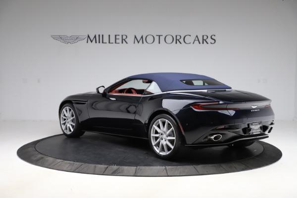 New 2021 Aston Martin DB11 Volante Convertible for sale $261,486 at Pagani of Greenwich in Greenwich CT 06830 27