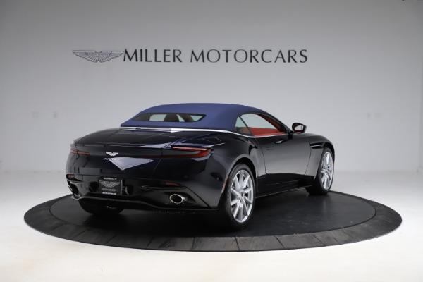 New 2021 Aston Martin DB11 Volante Convertible for sale $261,486 at Pagani of Greenwich in Greenwich CT 06830 28