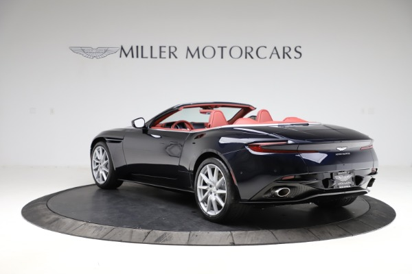 New 2021 Aston Martin DB11 Volante Convertible for sale $261,486 at Pagani of Greenwich in Greenwich CT 06830 4