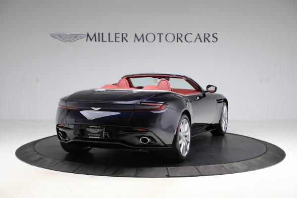 New 2021 Aston Martin DB11 Volante Convertible for sale $261,486 at Pagani of Greenwich in Greenwich CT 06830 6