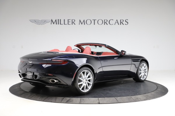 New 2021 Aston Martin DB11 Volante Convertible for sale $261,486 at Pagani of Greenwich in Greenwich CT 06830 7