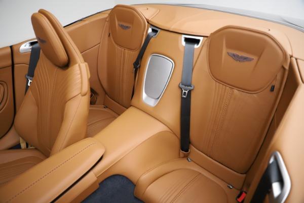New 2021 Aston Martin DB11 Volante for sale $265,186 at Pagani of Greenwich in Greenwich CT 06830 17