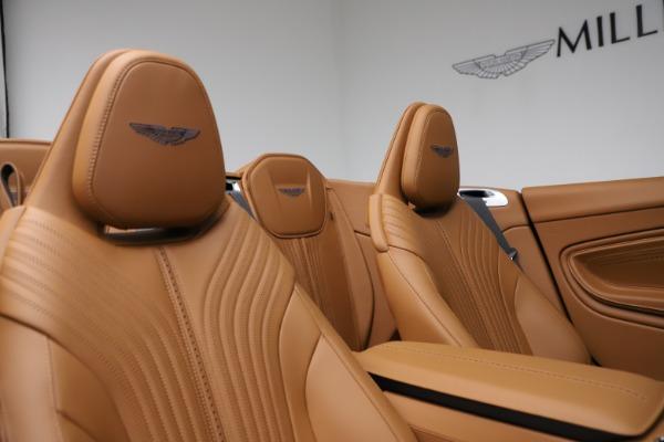 New 2021 Aston Martin DB11 Volante for sale $265,186 at Pagani of Greenwich in Greenwich CT 06830 19