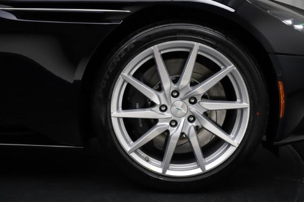 New 2021 Aston Martin DB11 Volante for sale $265,186 at Pagani of Greenwich in Greenwich CT 06830 26