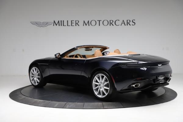 New 2021 Aston Martin DB11 Volante for sale $265,186 at Pagani of Greenwich in Greenwich CT 06830 3