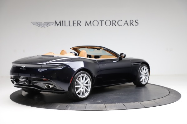 New 2021 Aston Martin DB11 Volante for sale $265,186 at Pagani of Greenwich in Greenwich CT 06830 7