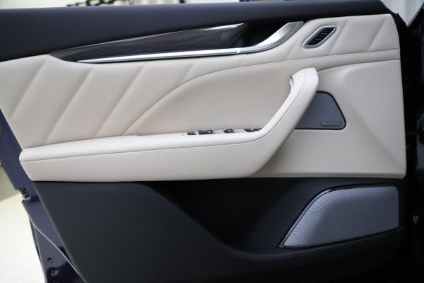 New 2021 Maserati Levante S Q4 GranLusso for sale $106,235 at Pagani of Greenwich in Greenwich CT 06830 17