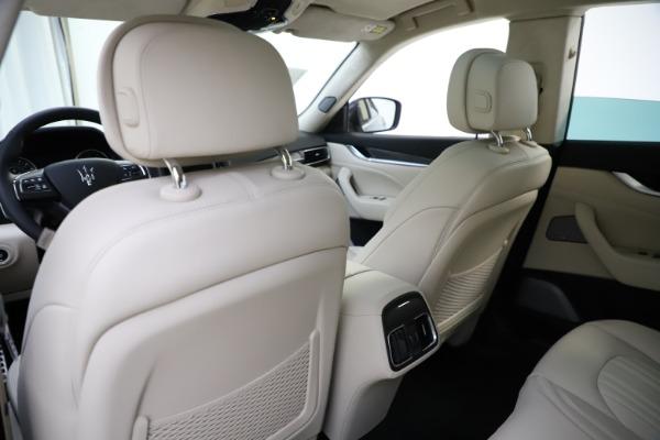 New 2021 Maserati Levante S Q4 GranLusso for sale $106,235 at Pagani of Greenwich in Greenwich CT 06830 22