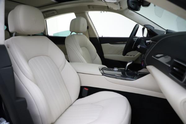 New 2021 Maserati Levante S Q4 GranLusso for sale $106,235 at Pagani of Greenwich in Greenwich CT 06830 23
