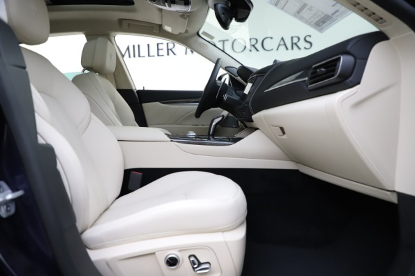 New 2021 Maserati Levante S Q4 GranLusso for sale $106,235 at Pagani of Greenwich in Greenwich CT 06830 24