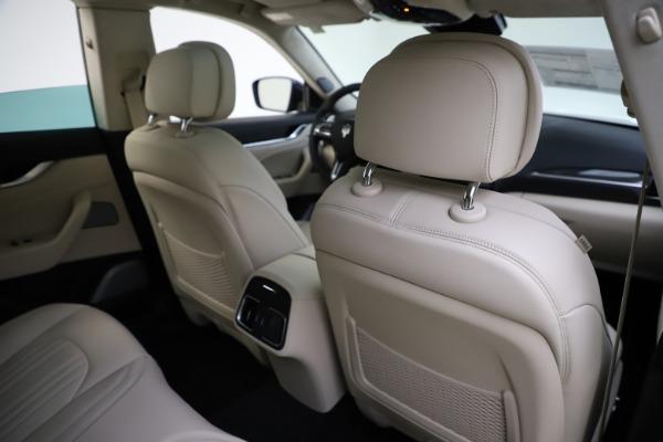 New 2021 Maserati Levante S Q4 GranLusso for sale $106,235 at Pagani of Greenwich in Greenwich CT 06830 28