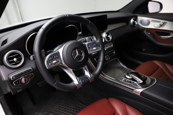 Used 2019 Mercedes-Benz C-Class AMG C 43 for sale $51,900 at Pagani of Greenwich in Greenwich CT 06830 14