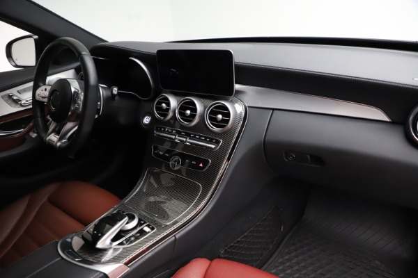 Used 2019 Mercedes-Benz C-Class AMG C 43 for sale $51,900 at Pagani of Greenwich in Greenwich CT 06830 22