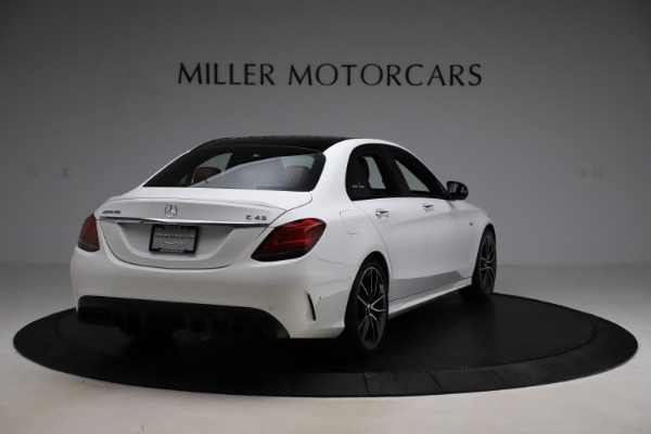 Used 2019 Mercedes-Benz C-Class AMG C 43 for sale $51,900 at Pagani of Greenwich in Greenwich CT 06830 8