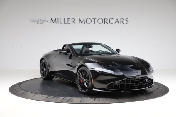 New 2021 Aston Martin Vantage Roadster Convertible for sale $189,186 at Pagani of Greenwich in Greenwich CT 06830 10