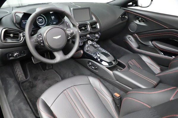 New 2021 Aston Martin Vantage Roadster Convertible for sale $189,186 at Pagani of Greenwich in Greenwich CT 06830 13