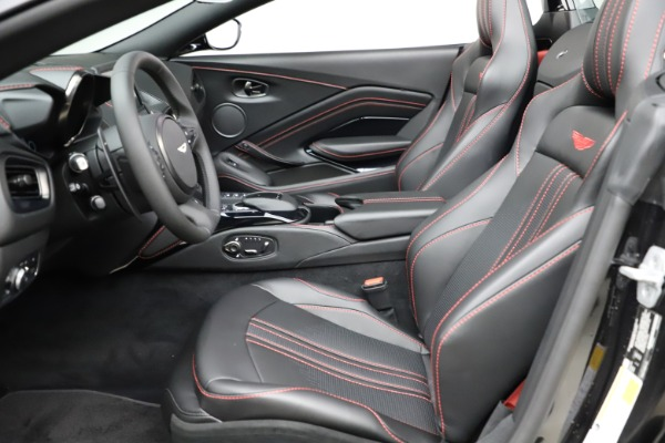 New 2021 Aston Martin Vantage Roadster Convertible for sale $189,186 at Pagani of Greenwich in Greenwich CT 06830 14